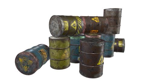 Barrels waste