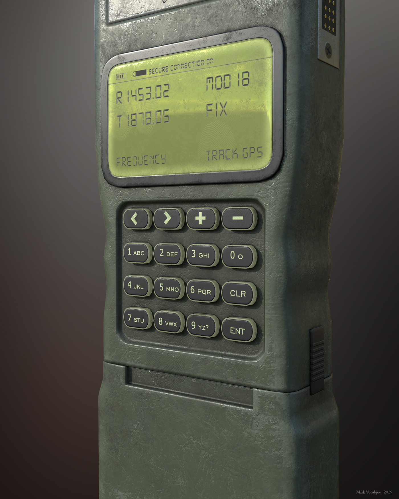 Mark Vorobjov - Military handheld radio