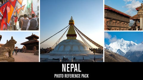 Nepal - Photo Reference Pack