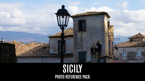Sicily - Photo Reference Pack