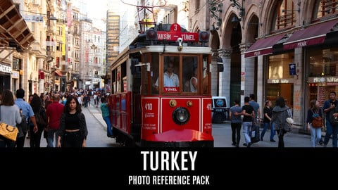 Turkey - Photo Reference Pack