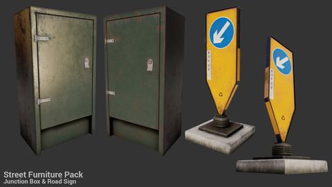 British Street Furniture UE4 pack