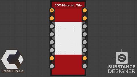 Material Tile - Substance Designer Node