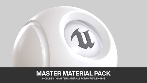 Unreal Engine 4 - Master Material Pack