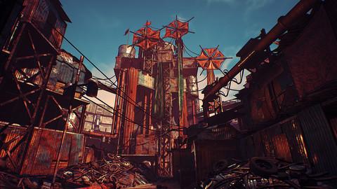 Modular Post-Apocalyptic City