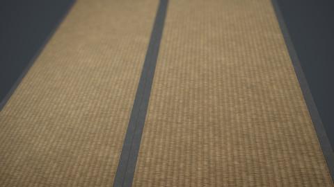 Japanese tatami floor smart material