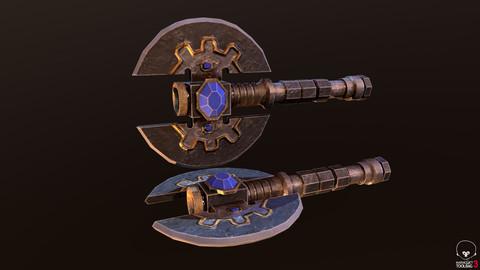 Medium Dwarf Axe