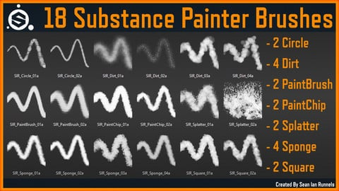 Substance Painter Brushes Vol.1