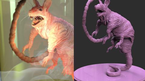 Laboratory Rat Figurine