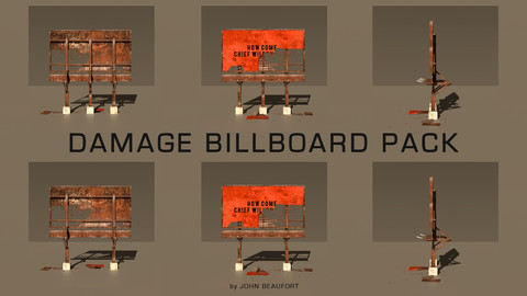 Damage Billboard Pack