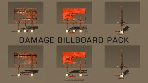 Damage Billboard Pack