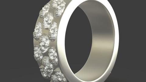 Jewelry Skulls Ring