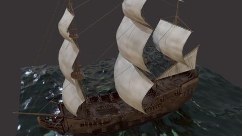 Sailboat Galleon
