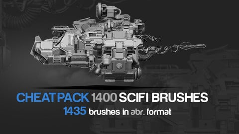 CHEATPACK_1400_SCIFI_BRUSHES