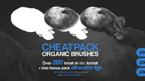 CHEATPACK_organic_brushes_part_1_2_3
