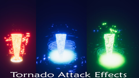 Tornado Attack Effect Pack_Unity 2019.2.0b1