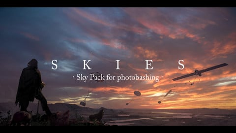 Skies - Sky Pack for Photobashing