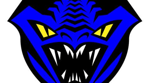 Oval Sapphire Dragon Icon