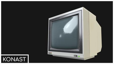 CCTV Monitor 02 VR / AR / low-poly 3d model