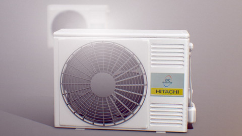 "Air Conditioner "" HITACHI DC Inverter """