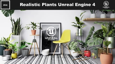 Realistic Plants Pack - Unreal Engine 4