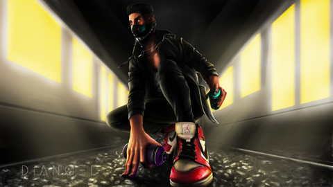 Miles Graffiter 4K
