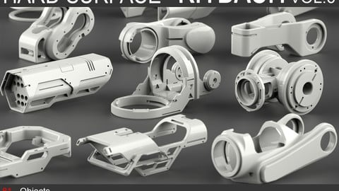 Hard Surface KitBash Vol 6