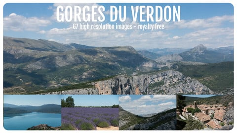 Photo Reference Pack - Gorges du Verdon