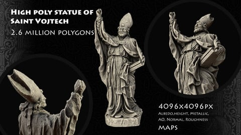 Saint Vojtech Statue