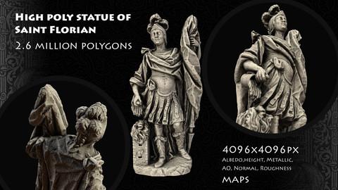 Saint Florian Statue
