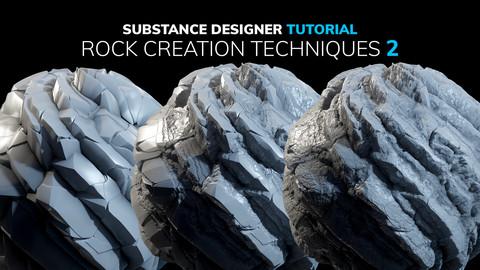 Substance Designer Rock Creation Techniques 2