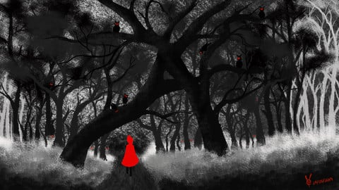 Big Bad Forest (Red Riding Hood)_CrystalLeo