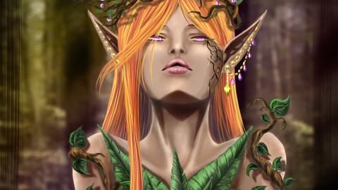 Elf Druid_CrystalLeo