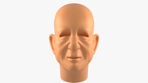 Oldster Head Basemesh