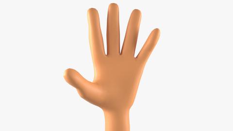 Man Hand Basemesh
