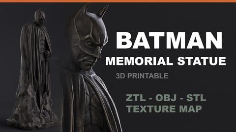 Batman Memorial Statue - 3D Printable