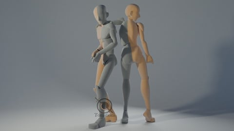 IK Rigged Dolls