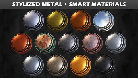 Stylized Metal • Smart Materials