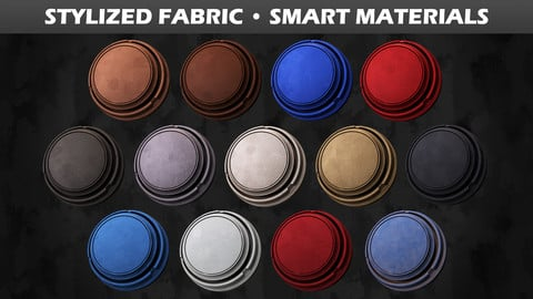Stylized Fabric • Smart Materials