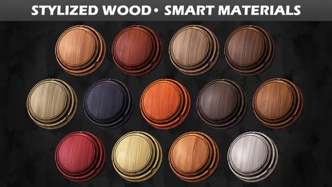 Stylized Wood • Smart Materials