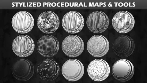 Stylized Procedural Maps & Tools