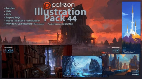 Illustration Pack 44 (not a stock asset)