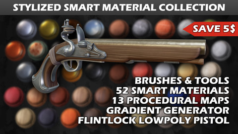 Stylized Smart Material Collection
