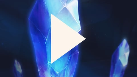 Ice Crystal tutorial with commentary
