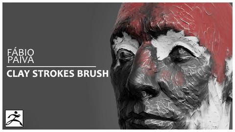 ZBrush VDM chisel brush - Clay Strokes