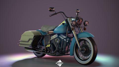 Harley Davidson 3D Game Ready Asset