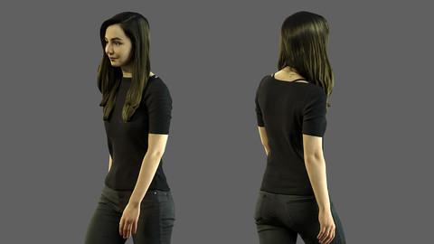 3d scan woman 8.1
