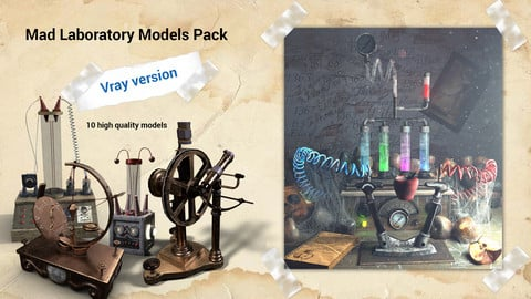 Mad Laboratory Models Collection for Vray