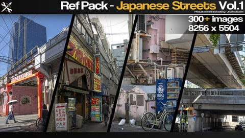 Ref Pack - Japanese Streets Vol.1