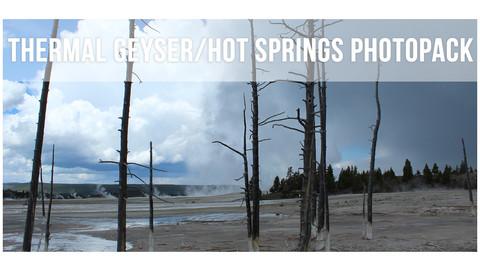 Thermal Geysers/Hot Springs Photopack